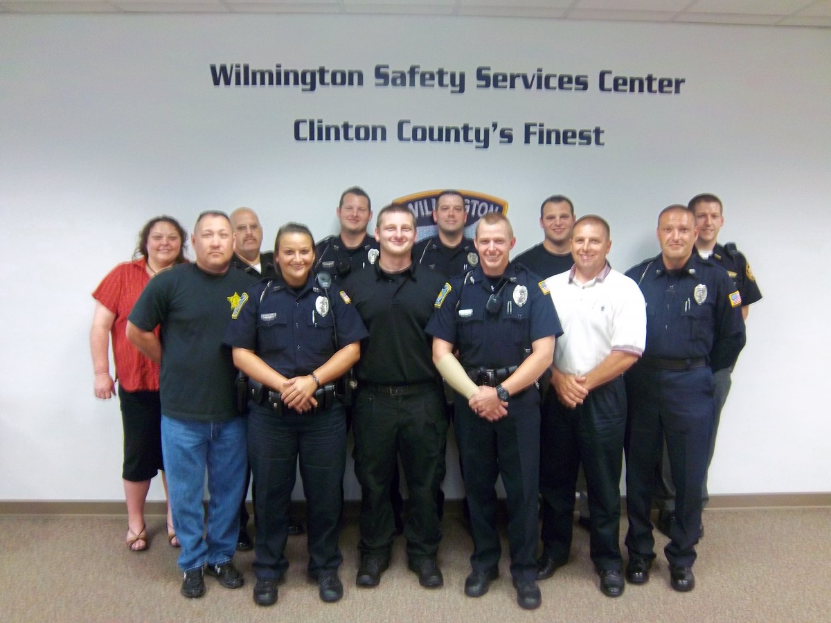 recent graduates of Crisis Intervention Team (CIT) training: 5 Wilmington officers, 5 Clinton County Sheriff's Office, and 2 NHO employees